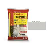 Rejuntamento Flexível 5kg - Cinza Platina