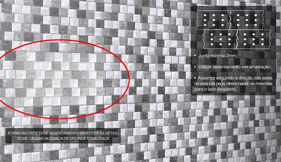 Revestimento HD Ref. 260005 32 X 57