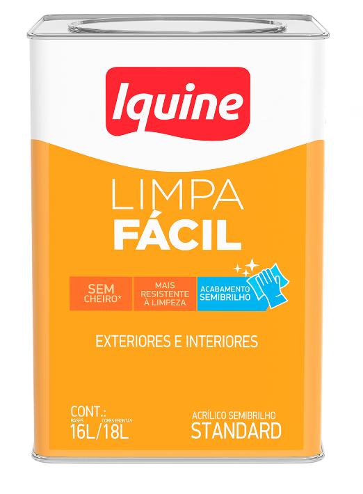 Tinta Acrílica Delanil Limpa Fácil Semibrilho 18L