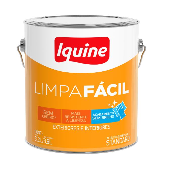 Tinta Acrílica Delanil Limpa Fácil Semibrilho 3,6L
