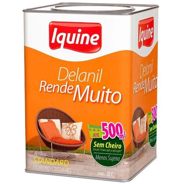 Tinta Acrílica Delanil Rende Muito 18L
