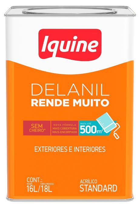 Tinta Acrílica Delanil Rende Muito 18L - Branco Neve