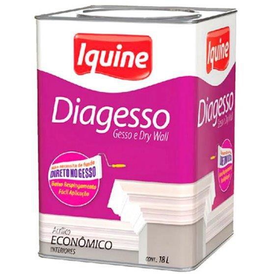 Tinta Acrílica Diagesso 18L - Branco Neve