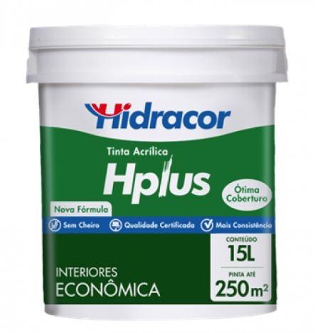 Tinta Acrílica Hplus 15l -  Branco Neve