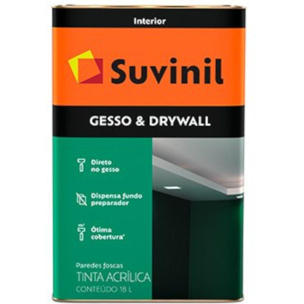 Tinta Acrílica Para Gesso E Drywall 18l - Branco