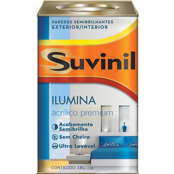 Tinta Acrílica Premium Ilumina 18l - Branco Neve