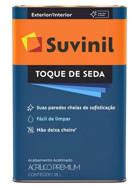 Tinta Acrílica Premium Toque De Seda Acetinado Branco Neve 18L