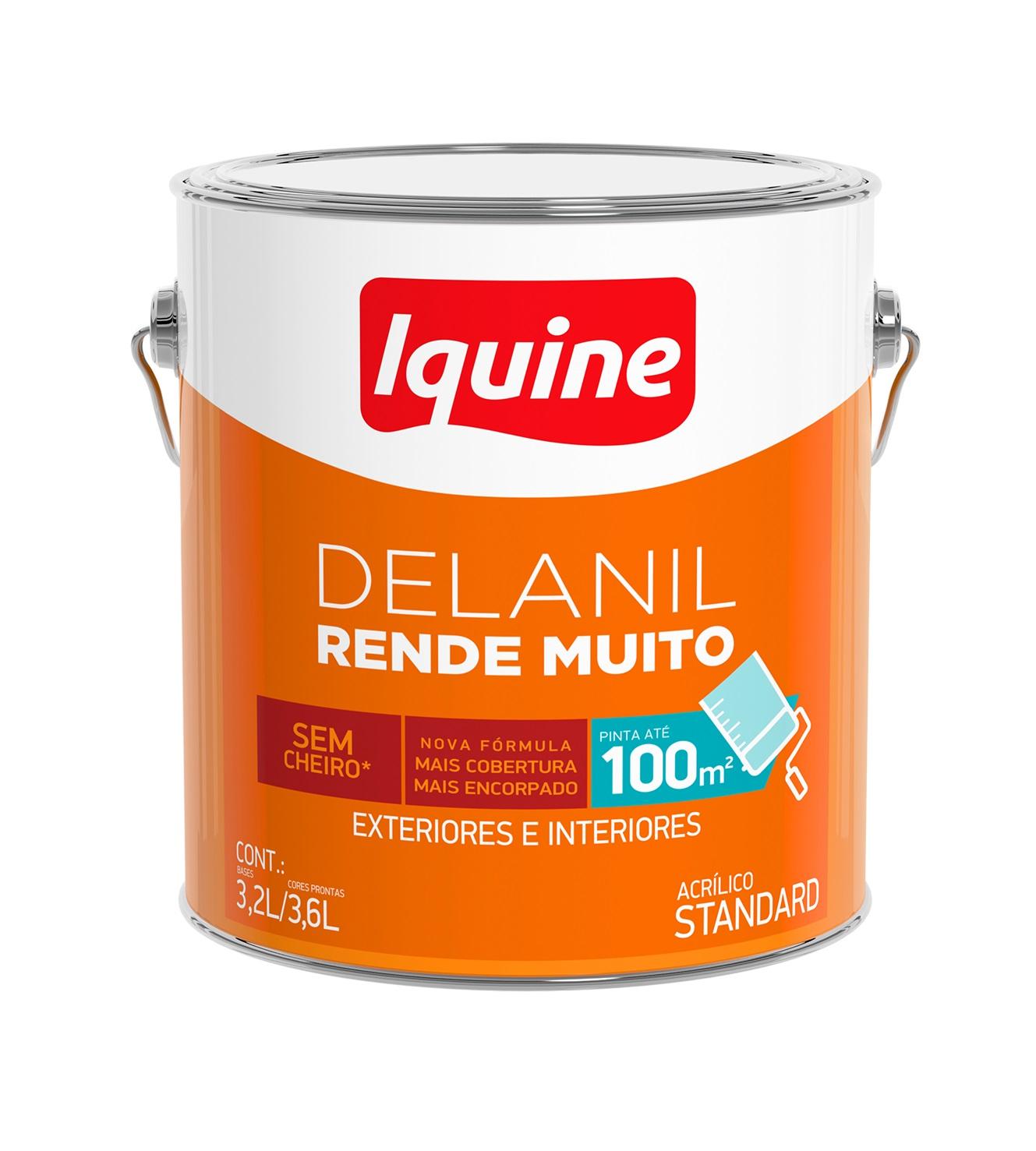 Tinta Base Delanil Rende Muito 3,2L
