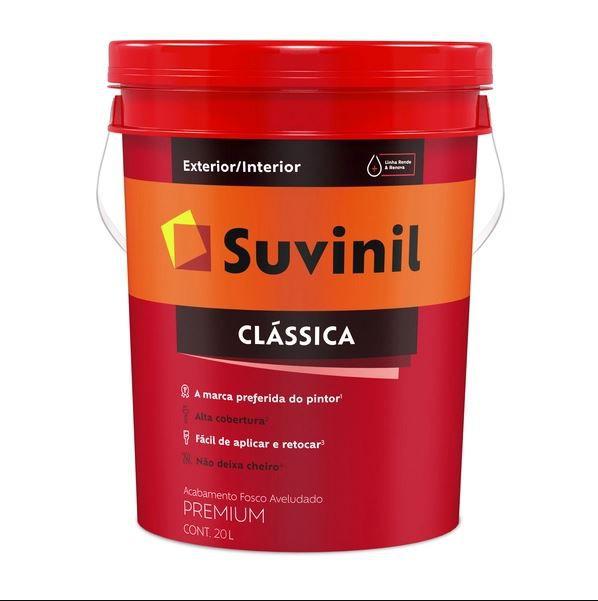 Tinta Clássica Premium 18l - Branco Neve (balde) INATIVO