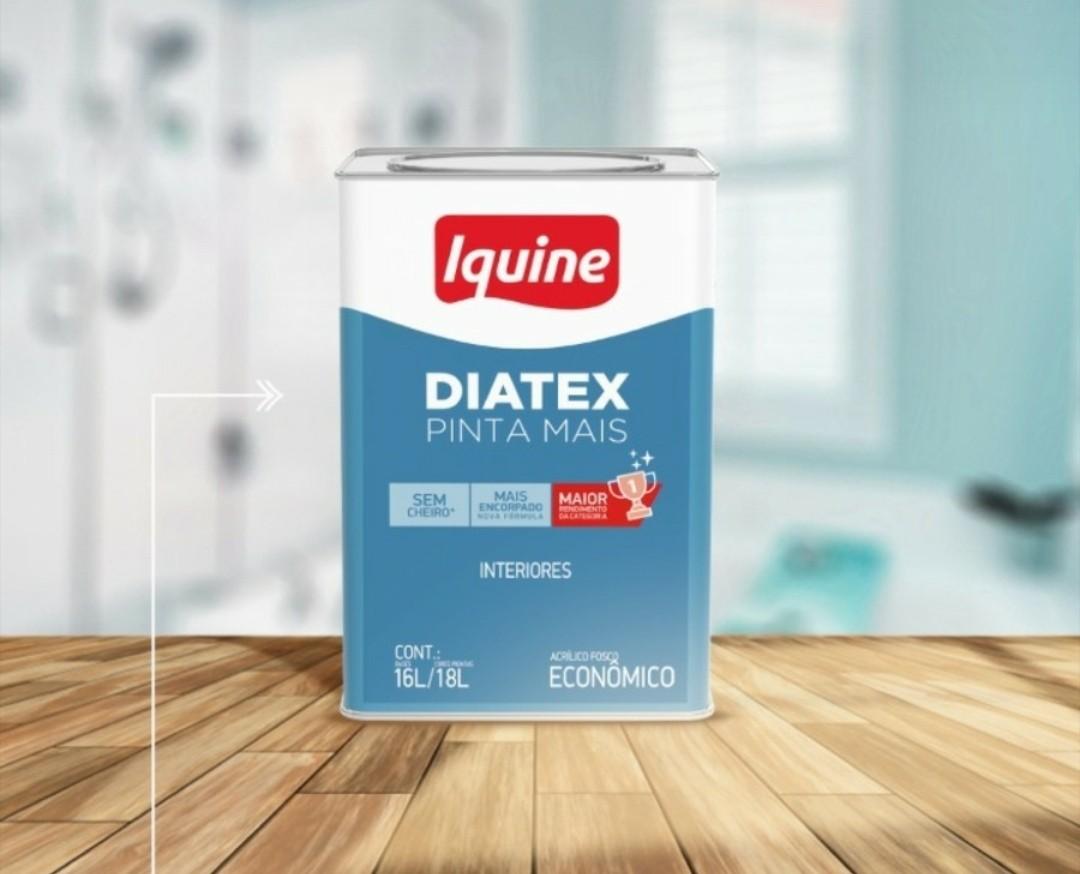 Tinta Diatex Acrílico 18L - Branco Neve