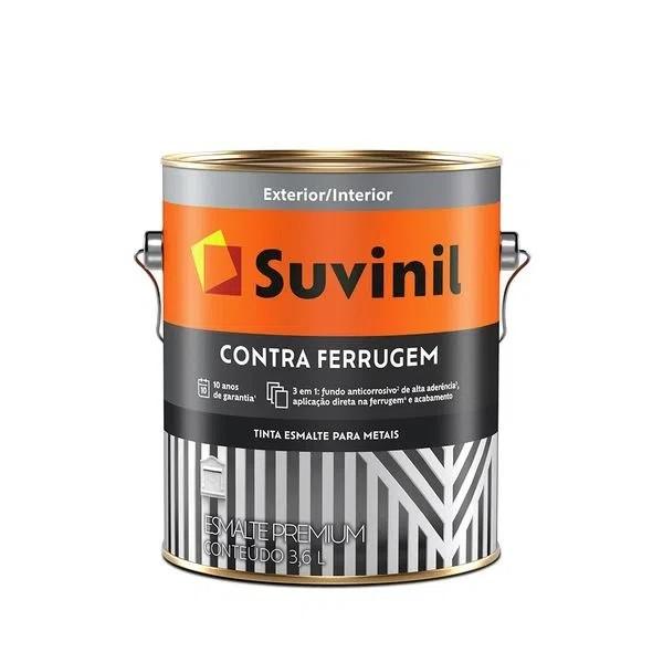 Tinta Esmalte Contra Ferrugem 3,6L - Branco