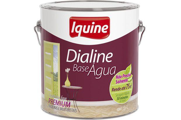 Tinta Esmalte Dialine Base Água 3,6L