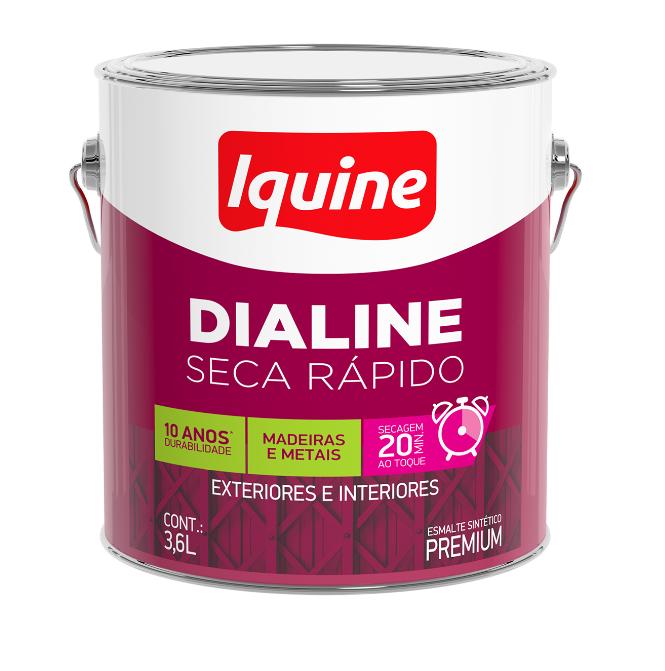 Tinta Esmalte Dialine Seca Rápido 3,6L