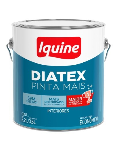Tinta Látex Diatex Pinta Mais 3,2L - Base