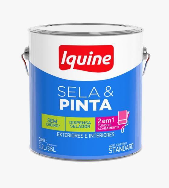 Tinta Sela & Pinta 3,6L - Branco Neve