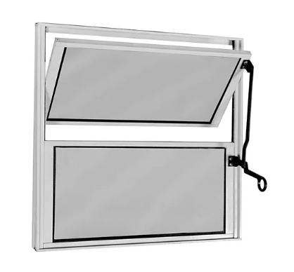 Vitro Basculante 40x40 - Alumínio