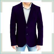 Blazer Masculino Slim Fit  - Sarja - Cores Diversas