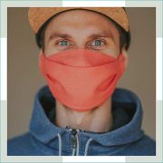 Máscara em tecido - 3d - Adulto - masculino