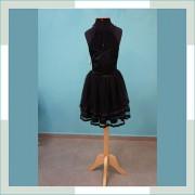 Vestido de festa preto curto II