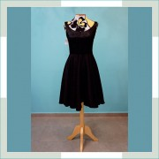 Vestido de festa preto curto I