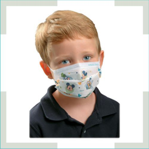 Máscara em tecido - pregas - Infantil - unissex  - FERRONI STORE ROUPAS E ACESSÓRIOS