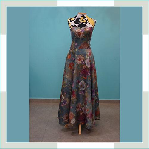 Vestido de festa floral I  - FERRONI STORE ROUPAS E ACESSÓRIOS