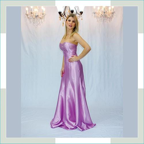 Vestido de festa lilás bojo brilho II  - FERRONI STORE ROUPAS E ACESSÓRIOS