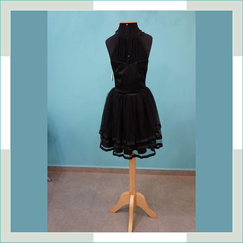 Vestido de festa preto curto II  - FERRONI STORE ROUPAS E ACESSÓRIOS