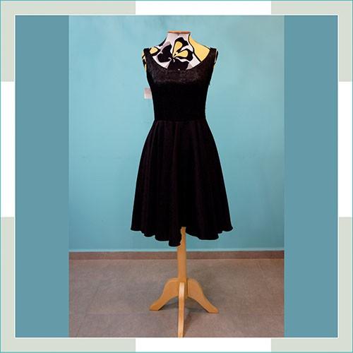 Vestido de festa preto curto I  - FERRONI STORE ROUPAS E ACESSÓRIOS