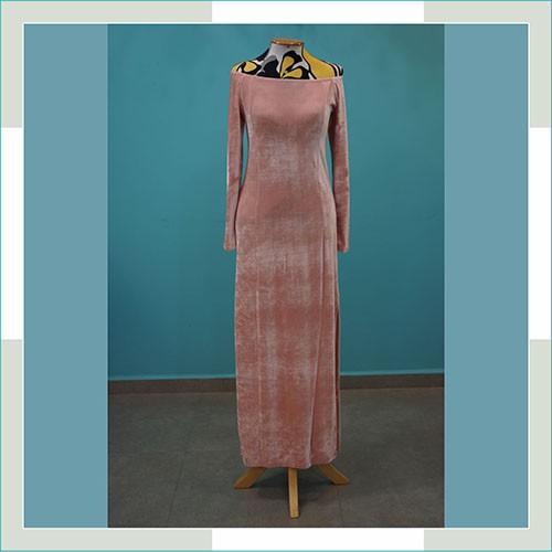 Vestido de festa rosa  - FERRONI STORE ROUPAS E ACESSÓRIOS