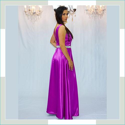 Vestido de festa rosa welch  - FERRONI STORE ROUPAS E ACESSÓRIOS
