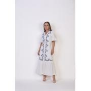 25712  Vestido algodão - Titanium Jeans - 125 cm