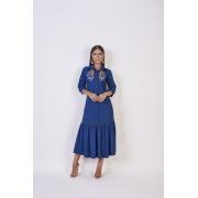 25796  Vestido Jeans - Titanium Jeans -125cm