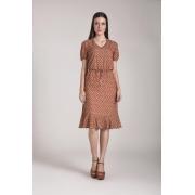 89607- Vestido crepe estampado - Laura Rosa