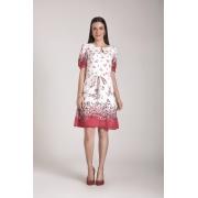 89615- Vestido crepe estampado - Laura Rosa