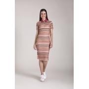 89627- Vestido malha Estampado - Laura Rosa