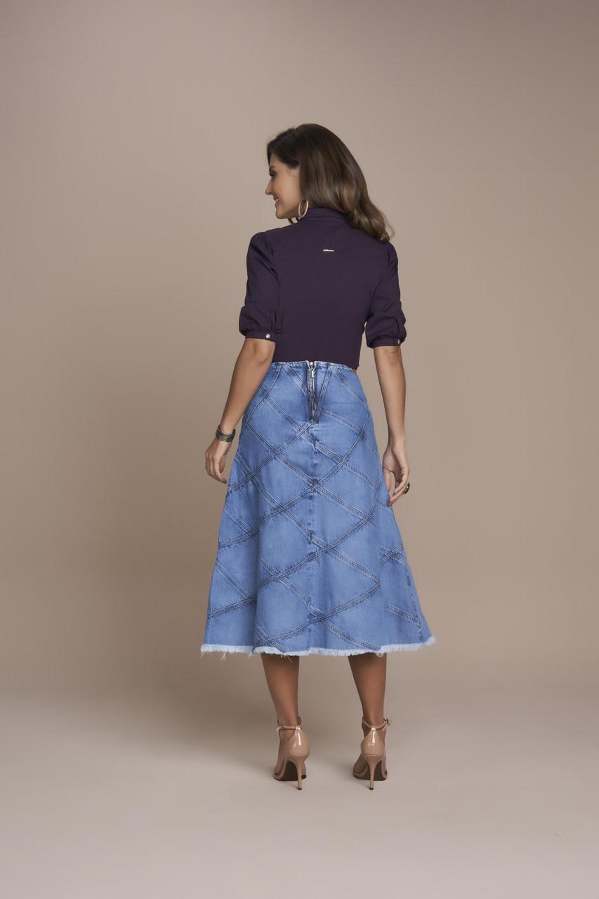 25380 Saia Evase Jeans