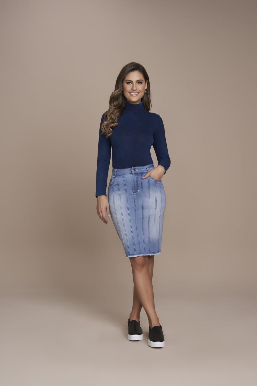 25387- Saia tradicional Jeans