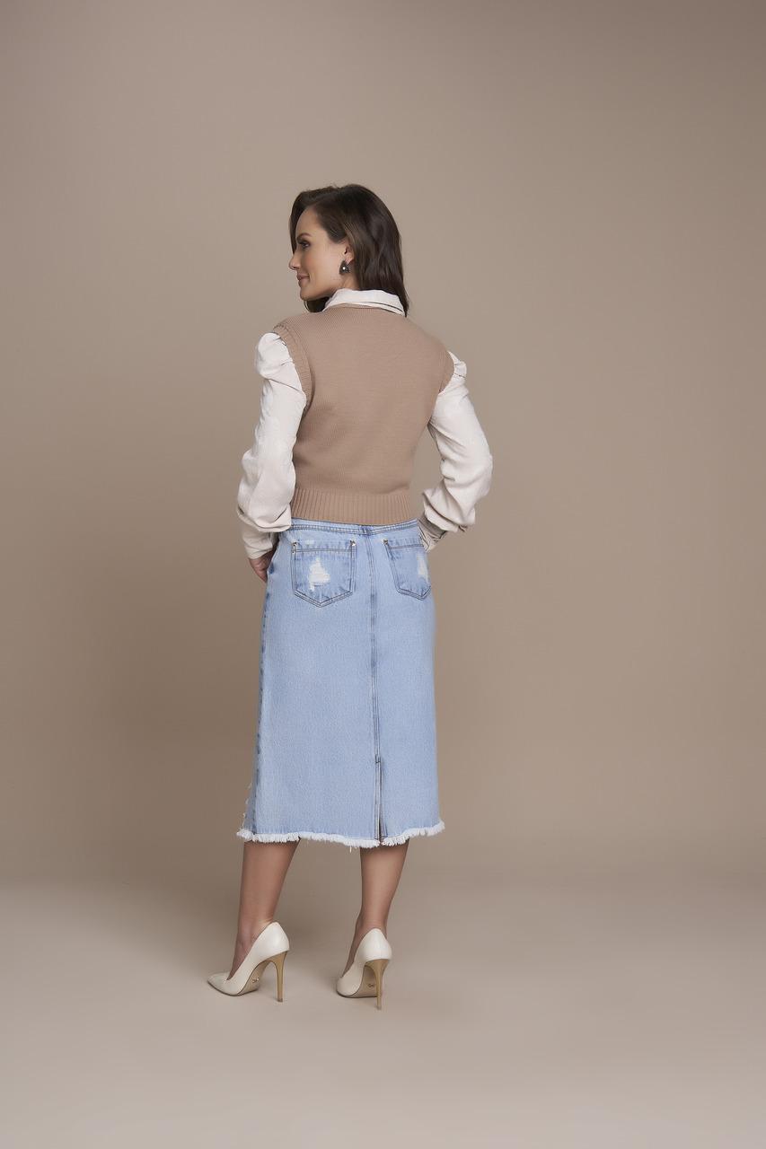 25560 Saia Evase Jeans