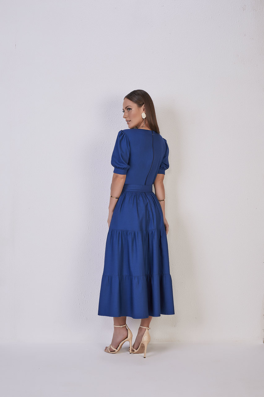 25713  Vestido Jeans - Titanium Jeans - 120cm