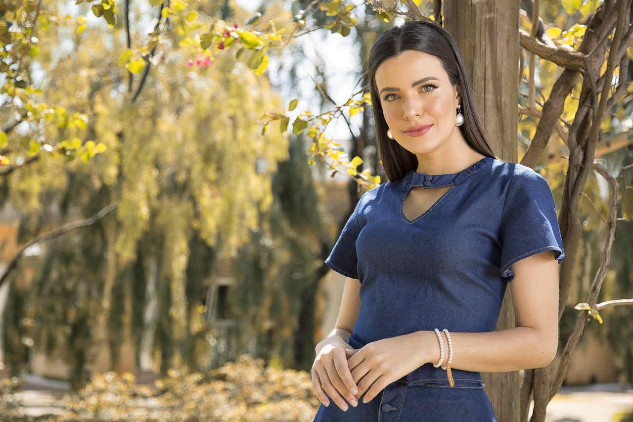 89675- Blusa jeans - Laura Rosa