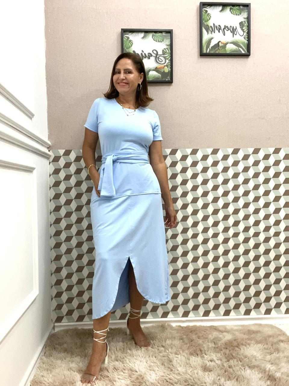VESTIDO GLORIA LONGO MULET - HELP CHIK