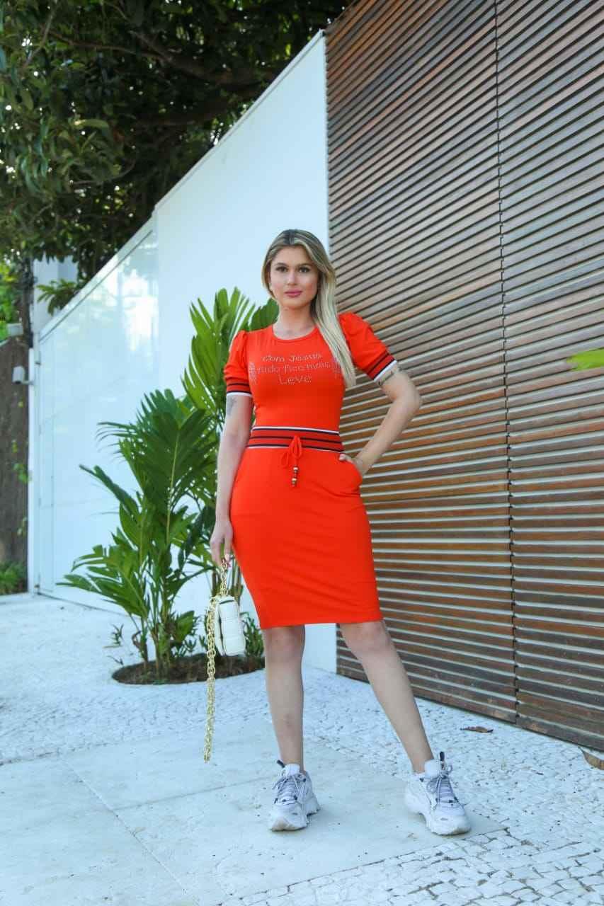 VESTIDO ISADORA COM DETALHES - BELLY MODA