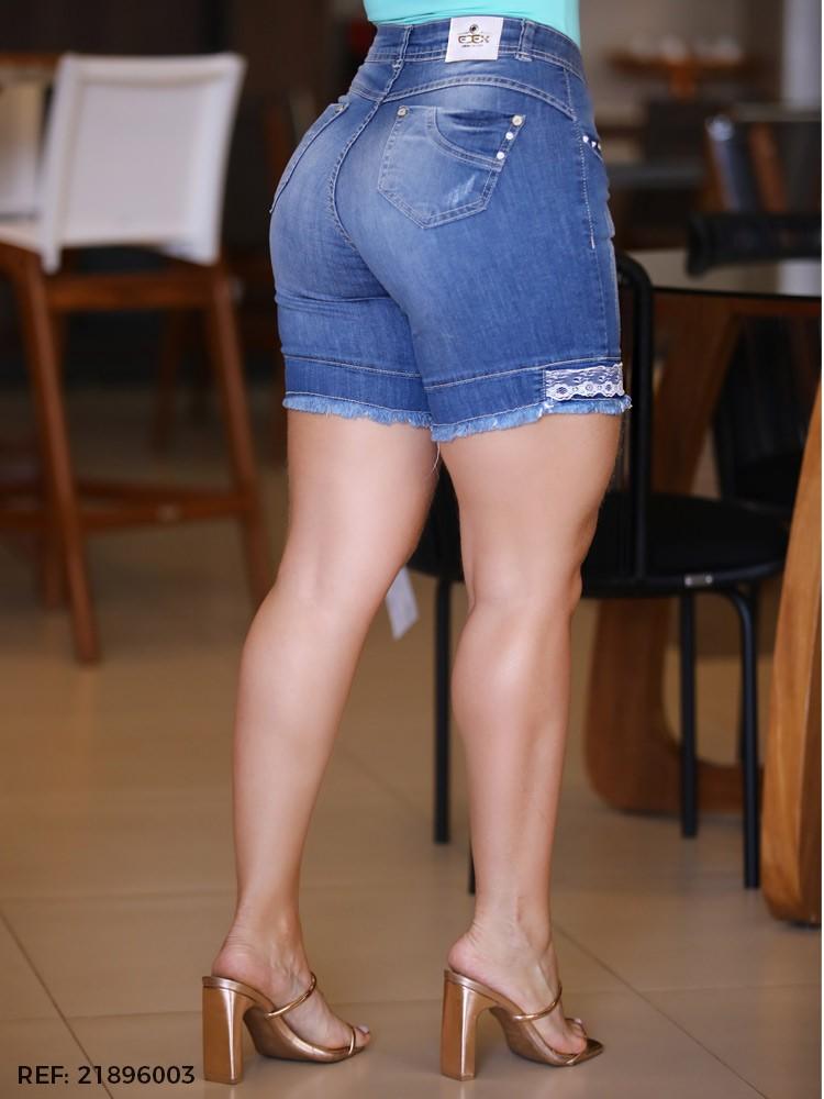 Bermuda feminina gisele meia coxa
