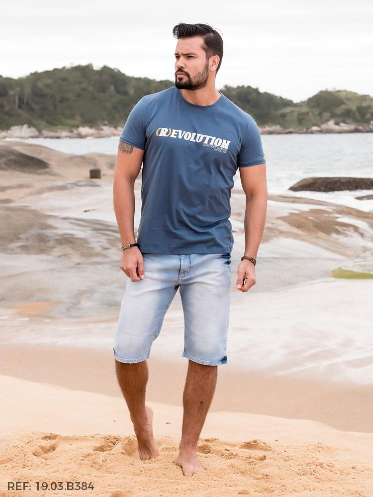 Bermuda masculina diferenciada