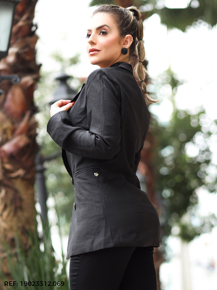Blazer feminino alongado
