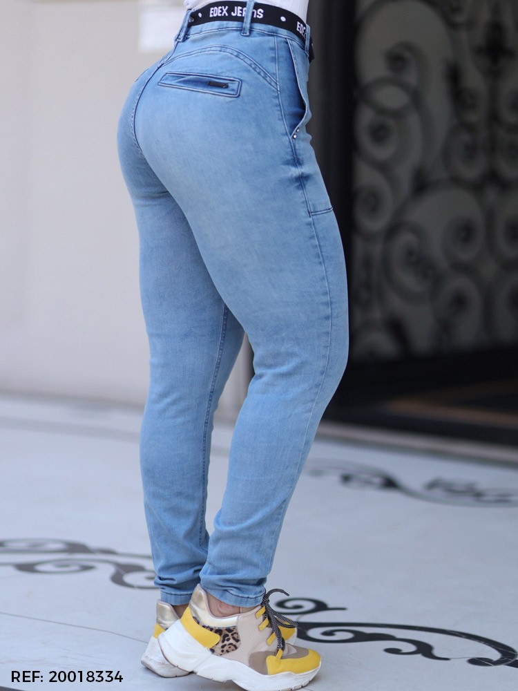 Calça feminina gisele cinto