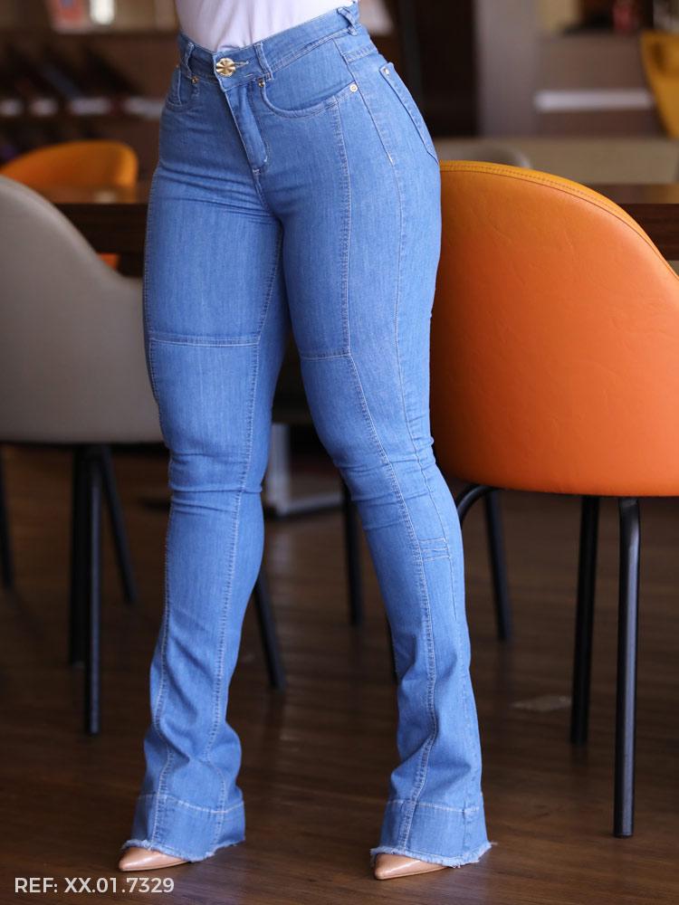 Calca feminina juliana boot cut