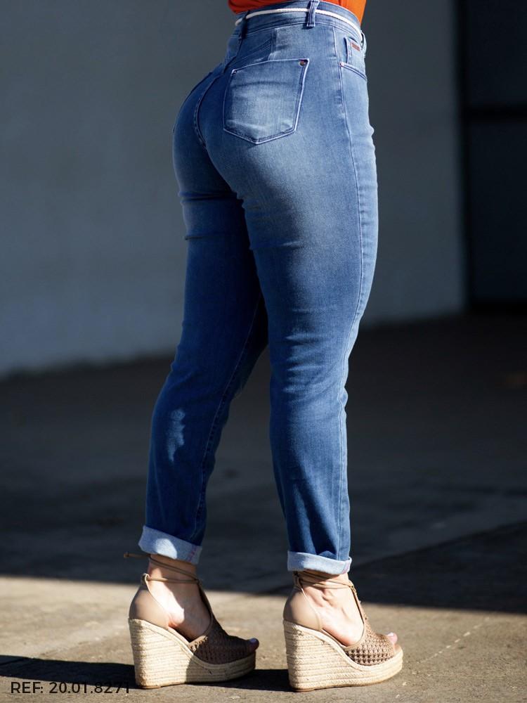 Calça feminina juliana cinto