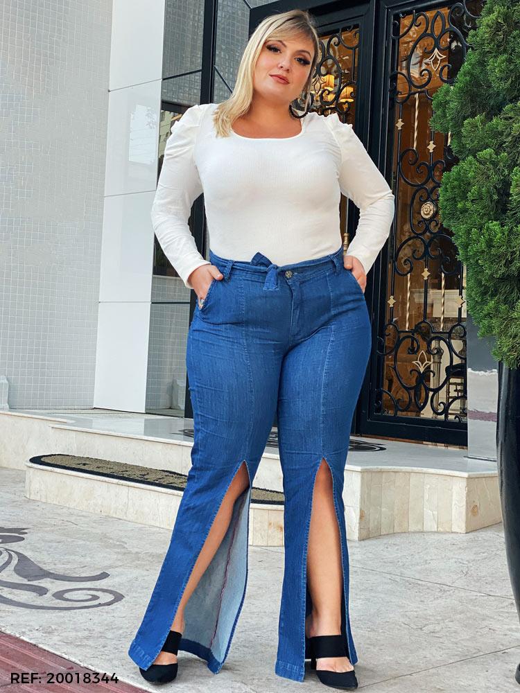 Calça feminina pantalona